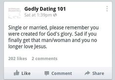 Godly dating 101
