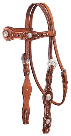 Tough-1 Nashville Browband Headstall