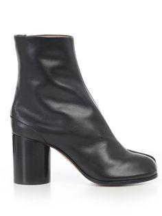 Maison Margiela Black Satin Koss Boots 48KTW1U