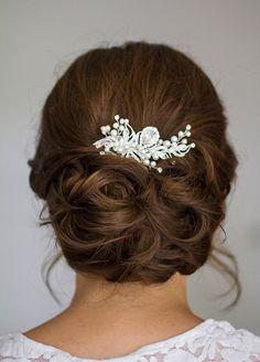 Wedding Celebrant London - Wedding, Naming & Funeral Ceremonies UK Romantic Wedding Hair, Hairdo Wedding, Wedding Hair And Makeup, Older Women Hairstyles, Loose Hairstyles, Bride Hairstyles, Pretty Hairstyles, Bridal Braids, Bridal Hair Updo