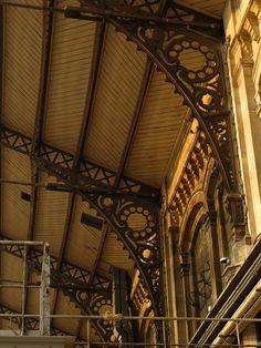 Gare d'Austerlitz / Austerlitz Railway Station, 85 quai d'Austerlitz, Paris XIII High Rise Apartments, Tu Me Manques, Train Stations, Place, Louvre, Interior, Italy, Design Interiors, Interiors