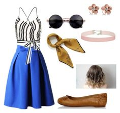 """The French Flower"" by angel-la-la on Polyvore featuring Alice + Olivia, Balenciaga, Mulberry, Allurez and Miss Selfridge"