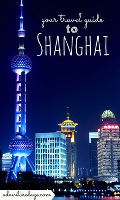 Asia's financial hub, Shanghai is well-known for its commercial enterprises but it's so much more than that. Find out more from our guide to Shanghai!