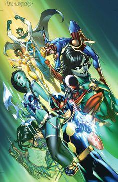 New Warriors by J. Scott Campbell *