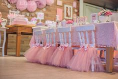 Are you planning a ballerina party? These ballerina party ideas will give you all the inspiration you need to plan the perfect twirling, whirling event. Ballerina Party Favors, Ballerina Party Decorations, Ballerina Birthday Parties, Birthday Tutu, Princess Birthday, Princess Party, Birthday Party Themes, Girl Birthday, Tutu Party