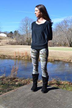 Camo leggings $20 #haysellorwear