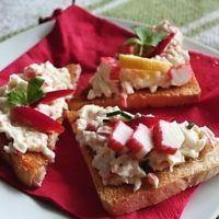Recept : Krabí pomazánka | ReceptyOnLine.cz - kuchařka, recepty a inspirace Krabi, Feta, Dairy, Cheese