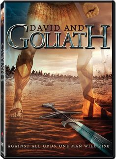 Checkout the movie 'David and Goliath' on Christian Film Database: http://www.christianfilmdatabase.com/review/david-goliath/