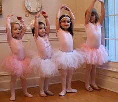 Stylish Childrens Parties: Ballet Birthday Party