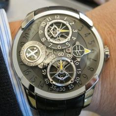 OPUS X by Harry Winston! http://www.watchonista.com/galleries  http://www.facebool.com/groups/WRISTSHOTS