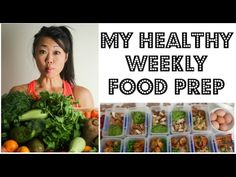 MEAL PREP - HOW I PREPARE 11 HEALTHY MEALS FOR THE WEEK | My weekly meal prep | 11 MEALS 17 SNACKS - YouTube