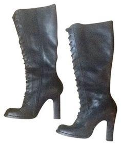 Steve Madden Black Boots $75