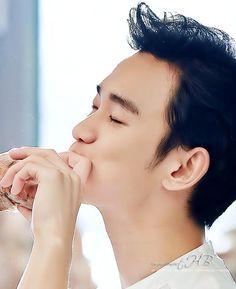 Kim Soo Hyun for Tous Les Jour ❤️ JYJ Hearts