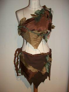 Jungle Girl Costume by darkvelvet20.deviantart.com on @deviantART