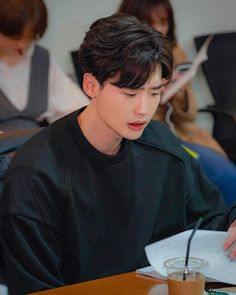 Lee Jong Suk Cute, Lee Jung Suk, Lee Jong Suk Funny, Asian Actors, Korean Actors, W Two Worlds Wallpaper, Lee Jong Suk Wallpaper, Up10tion Wooshin, Jong Hyuk