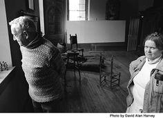 Andrew Wyeth with Helga