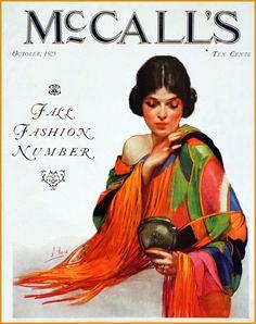 Deco~ 'McCalls' magazine...