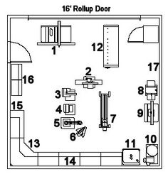 8 Talented Tips AND Tricks: Intarsia Woodworking Animals woodworking garage the family handyman.Woodworking Gifts For Girlfriend wood working table creative. Woodworking Workshop Layout, Workshop Plans, Workshop Design, Woodworking Garage, Garage Workshop, Woodworking Furniture, Woodworking Projects, Workshop Ideas, Garage Workbench