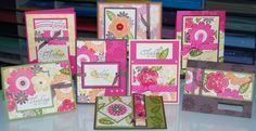 One Sheet Wonders Card Making | still love one sheet wonders i designed these cards for a church ...