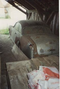 Facel Vega FV1 Vegas, Automobile, Old Classic Cars, Abandoned Cars, Barn Finds, Airstream, Cars And Motorcycles, Cool Cars, Circuit