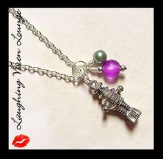 Retro Robot Jewelry  Robot Necklace Style A by LaughingVixenLounge, $16.00