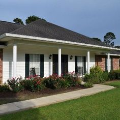 Mount and install columns to your front doorway, deck, and porch to increase the curb appeal of your home