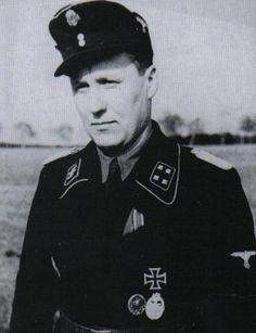 SS-Sturmbannführer FritzHerzig Schwere SS-Panzer Abteilung  503