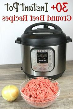 This list of Instant Pot Ground Beef recipes is the best list to keep on hand for busy days. They're pretty inexpensive, too! Ground Beef Recipes For Dinner, Dinner Recipes, Valentines Day Gifts For Him Marriage, Beef Recipe Instant Pot, Recipe 21, Cooker, Easy Meals, Pretty, Recipes For Dinner