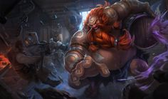 Gragas | League of Legends The only thing more important to Gragas than fighting is drinking. His unquenchable thirst for stronger ale has led him in search of the most potent and unconventional ingredients to toss in his still. Impulsive and unpredictable, this rowdy carouser loves cracking kegs as much as cracking heads. Thanks to his strange brews and temperamental nature, drinking with Gragas is always a risky proposition.