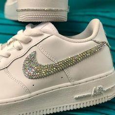 Custom Af1, Nike Custom, White Air Force Ones, Nike Shoes, Sneakers Nike, White Nikes, Shoe Brands, Nike Air Force, Me Too Shoes