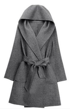 Cupshe New York Minute Robe Coat