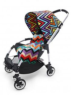 So Chic! Bugaboo and Missoni's Limited-Edition Stroller Accessory Collection – Moms & Babies – Moms & Babies - People.com