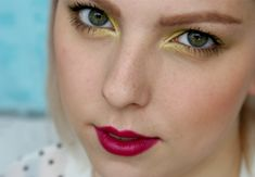 Letní Levné Žluté Kouřovky na Den Makeup Tutorial