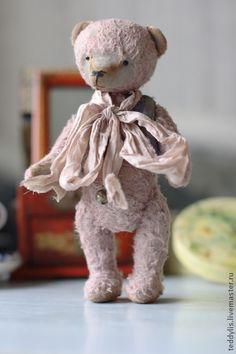 Мишки Тедди ручной работы. Ярмарка Мастеров - ручная работа Никифор. Handmade.