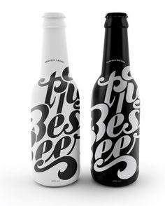 beautiful bottle design