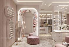 Room Design Bedroom, Girl Bedroom Designs, Home Room Design, Dream Home Design, Home Decor Bedroom, Home Interior Design, House Design, Modern Luxury Bedroom, Luxurious Bedrooms