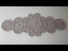 Crochet Home, Easy Crochet, Crochet Baby, Doily Patterns, Crochet Patterns, Crochet Table Runner Pattern, Crochet Hair Accessories, Crochet Dollies, Sgraffito