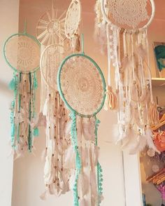 D R E A M . W I T H . U S ✨ visit our #miami boutique to check out our new window display! SHOP these dream catchers in store & coming