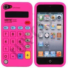 Calculator (Sterk Rosa) iPod Touch 5 Deksel