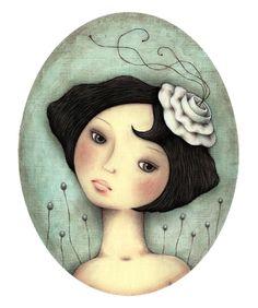 Leanne Ellis Art Do You Ever Wonder?' Gouache and Pencil