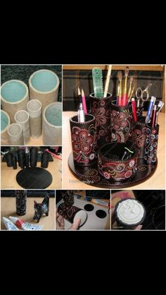 DIY #desk #organizer