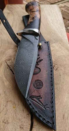 Custon handmade Peremský knife