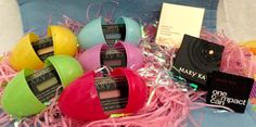 Perfect Easter Basket Item for Teen!! Eye Shadow colors in plastic Easter eggs that match. So Fun! So Fast! www.marykay.com/lauraralston LauraRalston@MaryKay.com