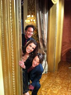 Drake Hogestyn, Kristian Alfonso, and Matthew Ashford from Days of our Lives
