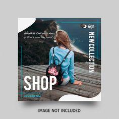 Social Media Poster, Social Media Banner, Social Media Template, Instagram Design, Instagram Posts, Desing Inspiration, Instagram Banner, Photoshop, Promotional Design