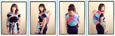 Back Wrap Cross Carry / BWCC  {from Babywearing 102: Wrapping 360 Project}   ***long wrap carry