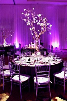 Gorgeous Purple Wedd