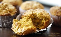 Cinnamon Sugar Pumpkin Muffins...use coconut sugar