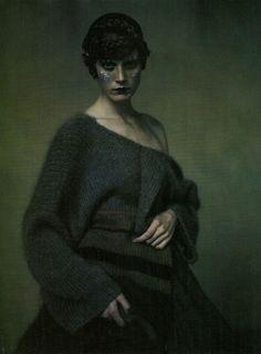 knitgrandeur: Yohji Yamamoto A / W 1998 by Paolo Roversi