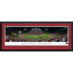 Worldwide Blakeway Panoramas 'Arkansas State Football' Framed Print